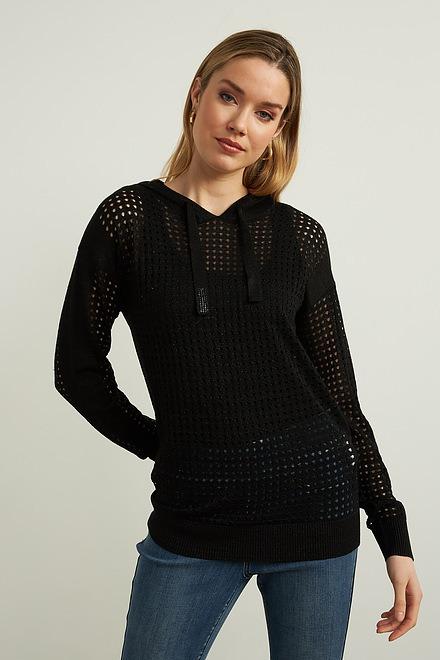 Joseph Ribkoff Perforated Sweater Style 212906