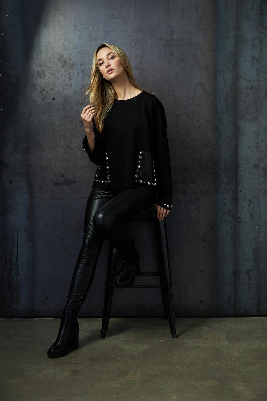 Joseph Ribkoff Black Shirts & Blouses Style 213000