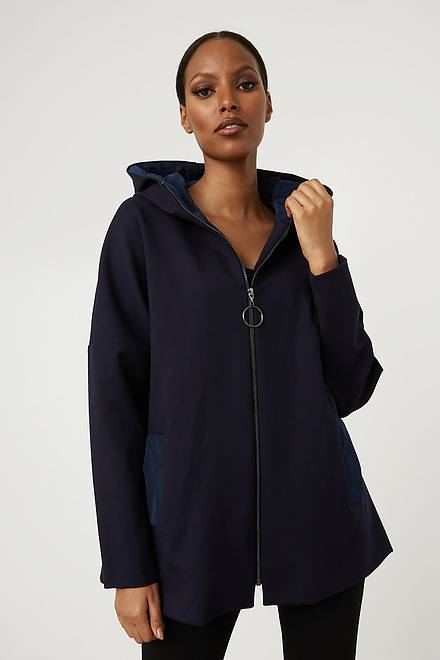 Joseph Ribkoff Hooded Jacket Style 213005