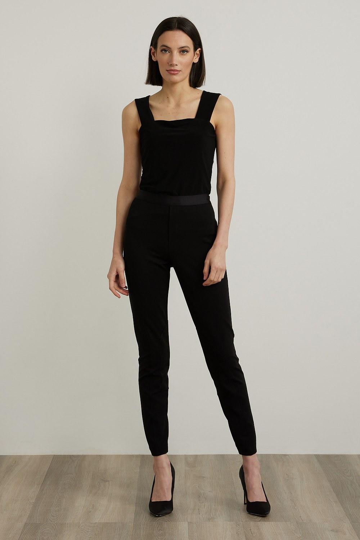 Joseph Ribkoff Leggings Noir Style 213027