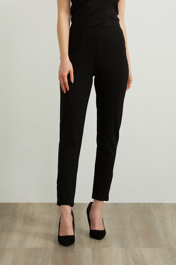Joseph Ribkoff Pantalons Noir Style 213038