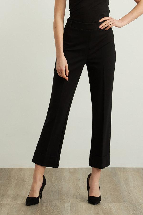Joseph Ribkoff Pantalons Noir Style 213043