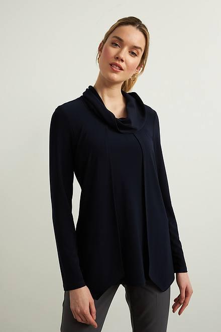 Joseph Ribkoff Midnight Blue 40 Shirts & Blouses Style 213047