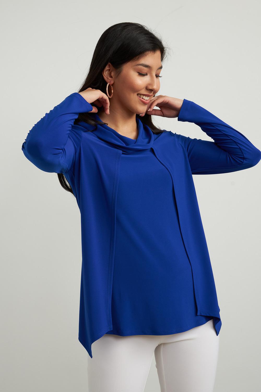 Joseph Ribkoff Chemises et blouses Saphir Royal 163 Style 213047
