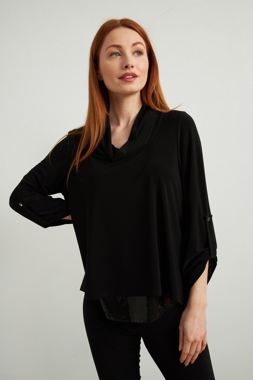 Joseph Ribkoff Chemises et blouses Noir Style 213049