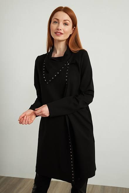 Joseph Ribkoff Studded Cocoon Jacket Style 213054