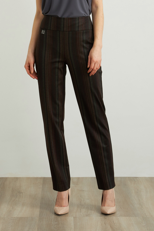 Joseph Ribkoff Pantalons Noir/Multi Style 213070
