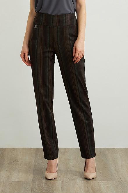 Joseph Ribkoff Striped Pull-on Pants Style 213070