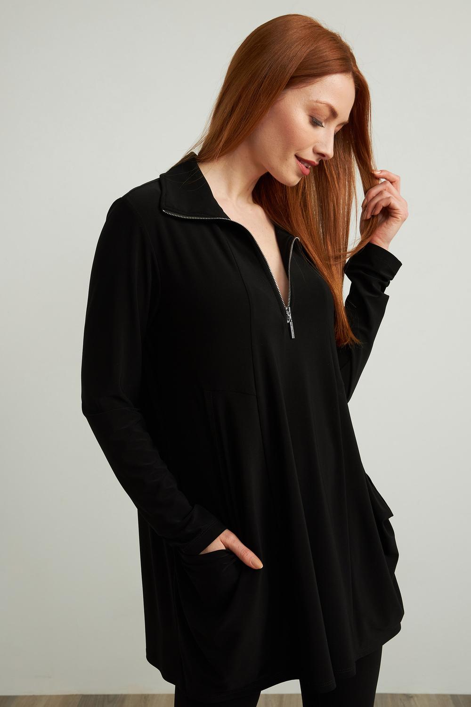 Joseph Ribkoff Tuniques Noir Style 213075