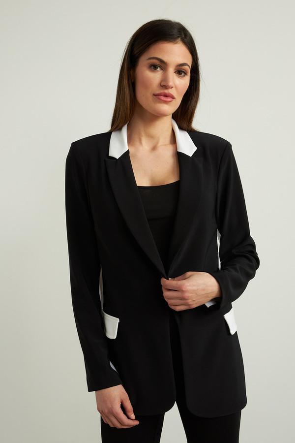 Joseph Ribkoff Black/Vanilla Jackets Style 213087