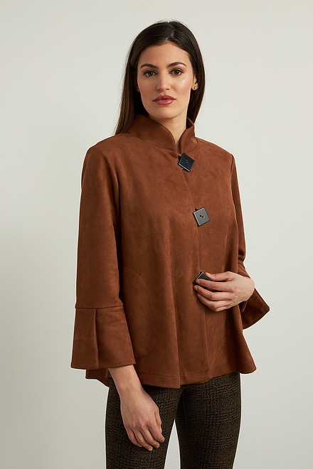 Joseph Ribkoff Faux Suede Jacket Style 213093