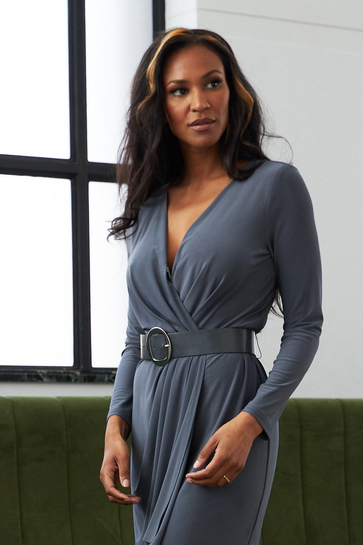 Joseph Ribkoff Granite Dresses Style 213103