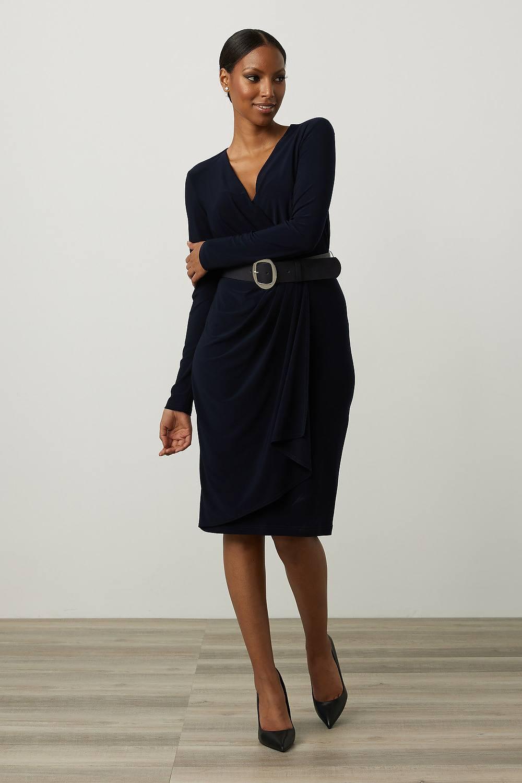 Joseph Ribkoff Robes Bleu Minuit 40 Style 213103
