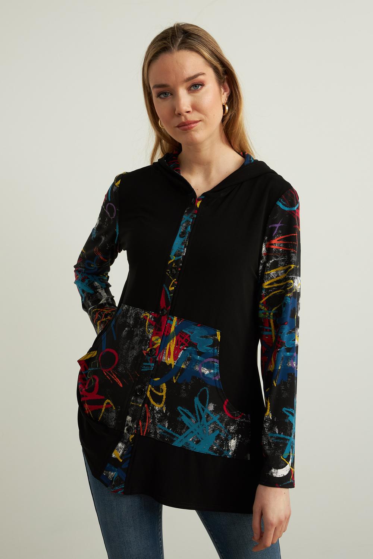 Joseph Ribkoff Chemises et blouses Noir/Multi Style 213109