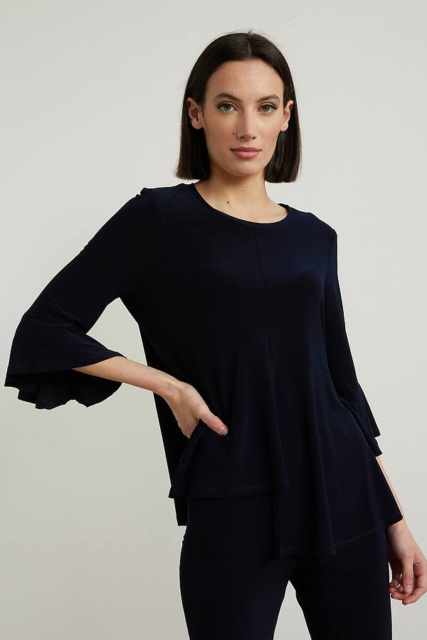 Joseph Ribkoff Chemises et blouses Bleu Minuit 40 Style 213114