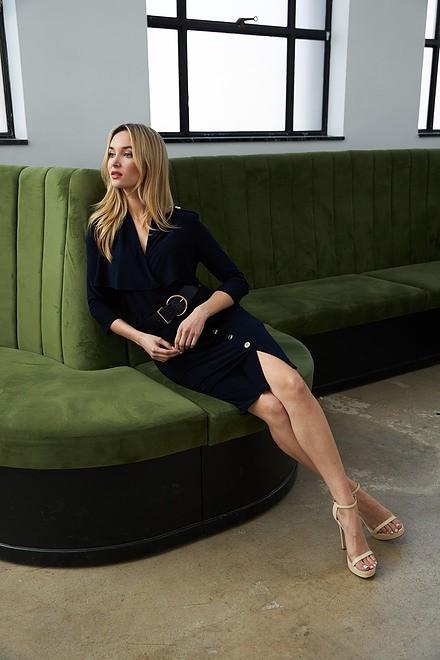 Joseph Ribkoff Button Detail Dress Style 213249