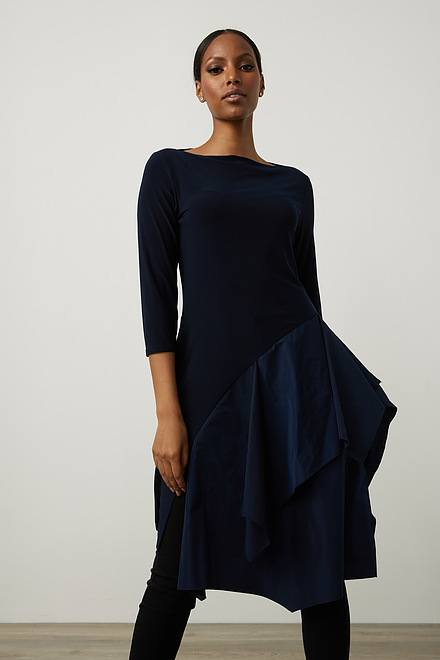 Joseph Ribkoff Tiered Asymmetric Dress Style 213251