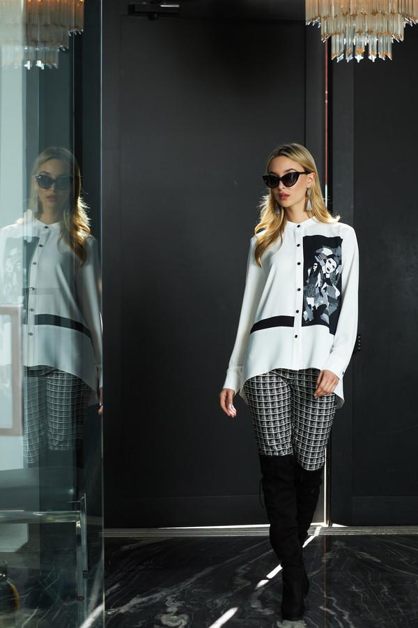 Joseph Ribkoff Vanilla/Black Shirts & Blouses Style 213267