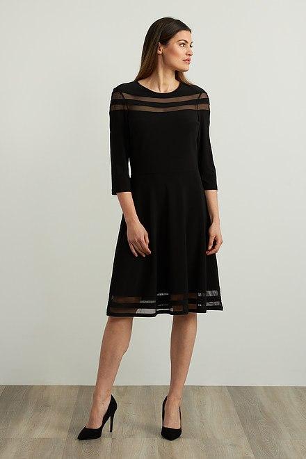 Joseph Ribkoff Mesh Insert Dress Style 213289