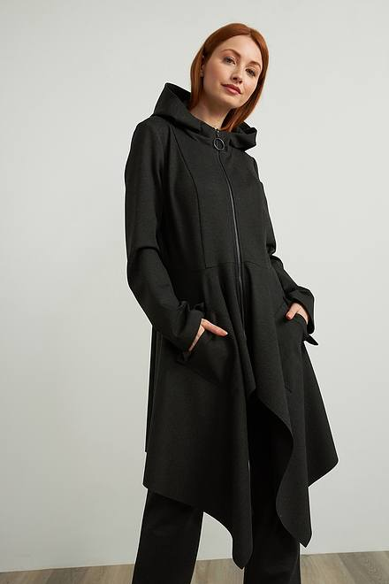 Joseph Ribkoff Tiered Hem Jacket Style 213295