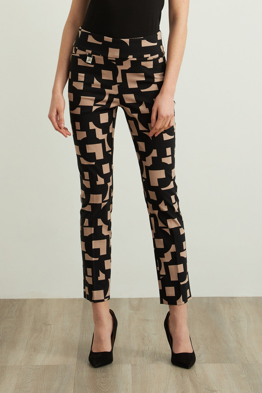 Joseph Ribkoff Pantalons Noir/Sable Style 213297