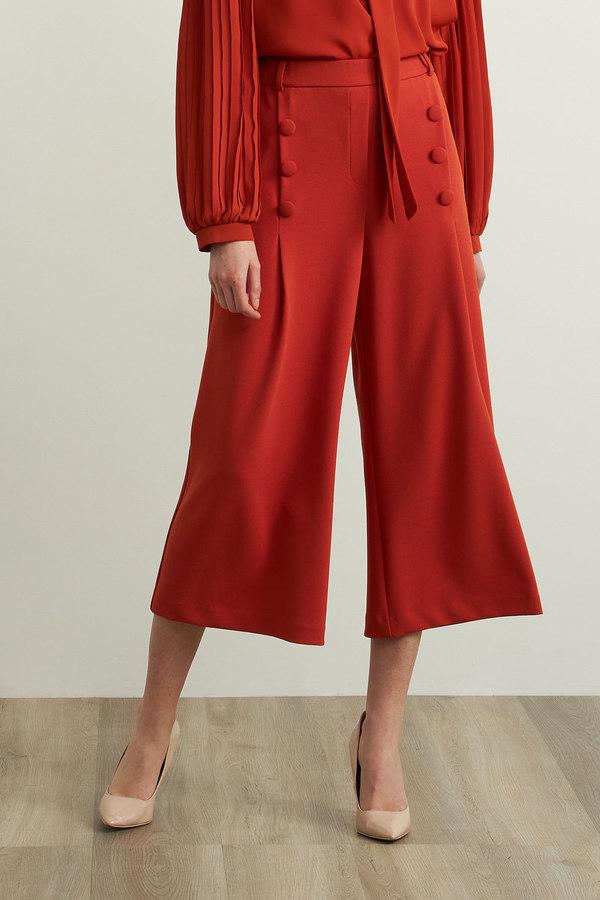Joseph Ribkoff Wide Leg Pants Style 213303. Topaz