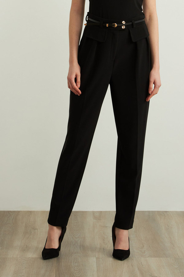 Joseph Ribkoff Black Pants Style 213311
