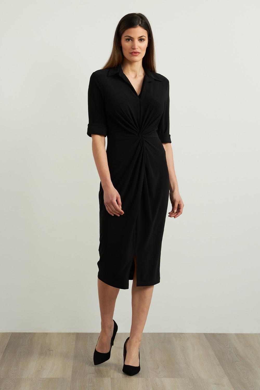 Joseph Ribkoff Black Dresses Style 213327