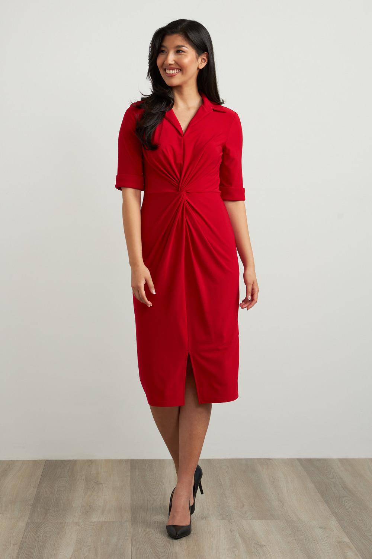 Joseph Ribkoff Lipstick Red 173 Dresses Style 213327