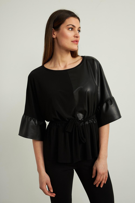 Joseph Ribkoff Tee-shirts et camisoles Noir Style 213334
