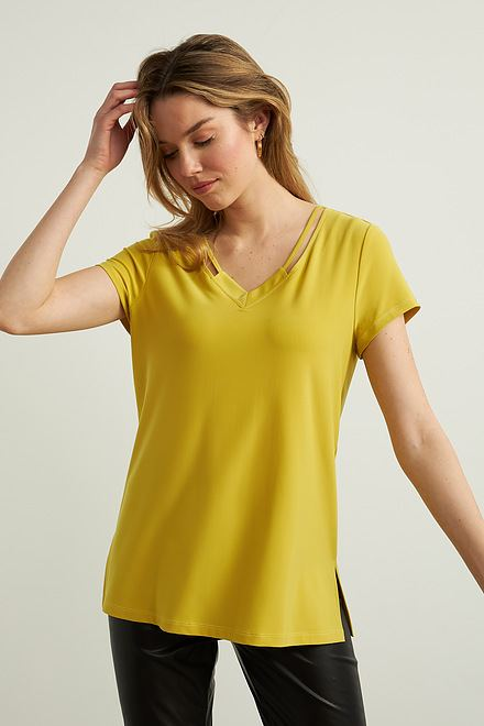 Joseph Ribkoff Lemongrass Tees & Camis Style 213338