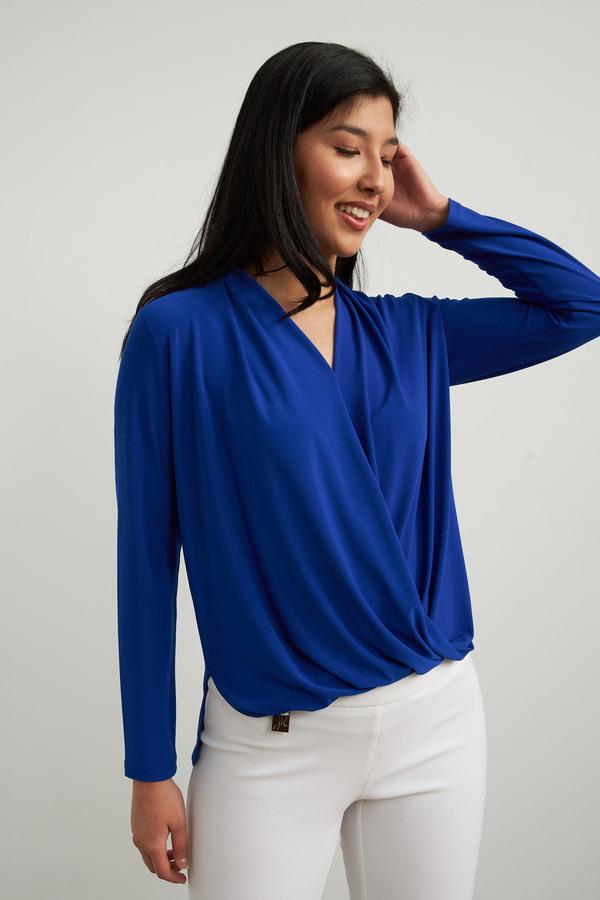 Joseph Ribkoff Royal Sapphire 163 Shirts & Blouses Style 213341