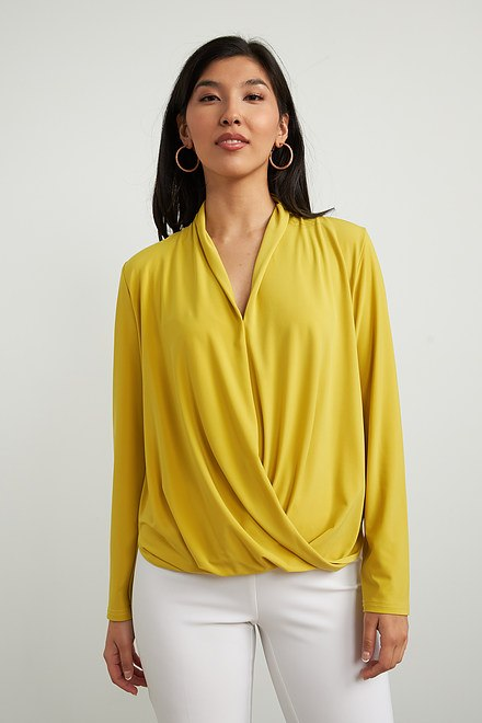 Joseph Ribkoff Lemongrass Shirts & Blouses Style 213341