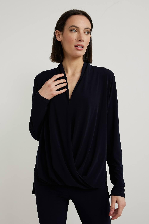 Joseph Ribkoff Chemises et blouses Bleu Nuit Style 213341