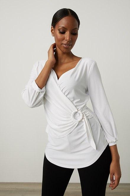 Joseph Ribkoff Chemises et blouses Vanille 30 Style 213349