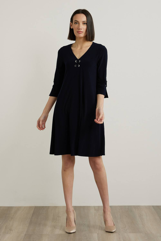 Joseph Ribkoff Robes Bleu Nuit Style 213361