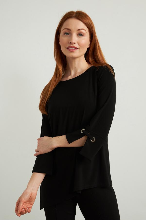 Joseph Ribkoff Black Shirts & Blouses Style 213373
