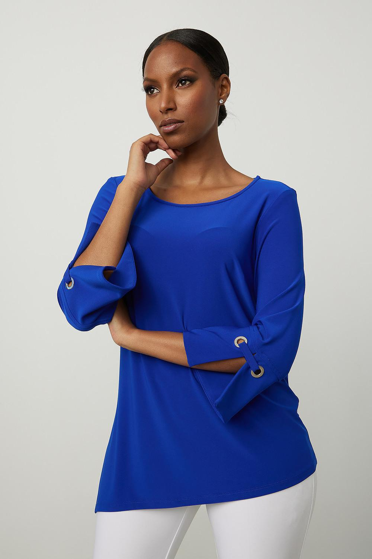 Joseph Ribkoff Royal Sapphire 163 Shirts & Blouses Style 213373