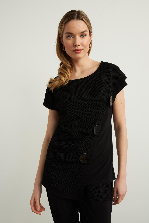 Joseph Ribkoff Black Tees & Camis Style 213374