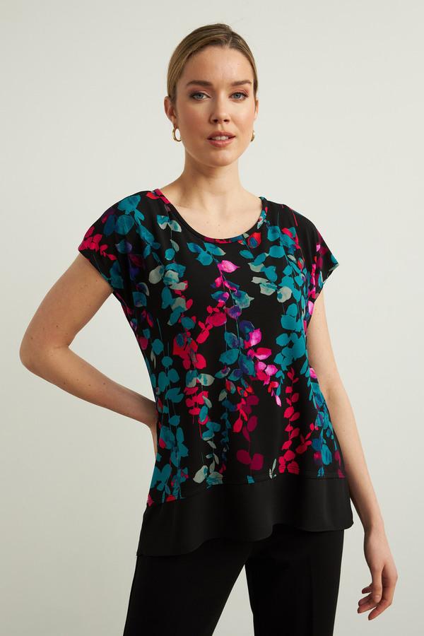 Joseph Ribkoff Chemises et blouses Noir/Multi Style 213382
