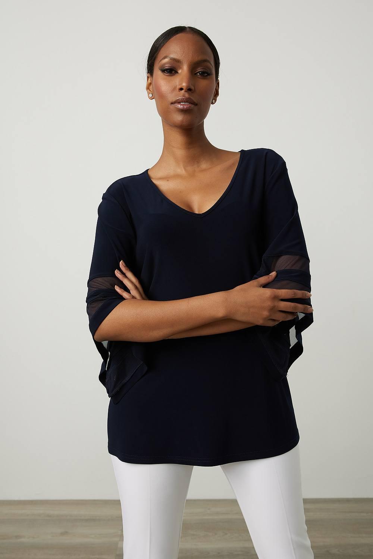 Joseph Ribkoff Chemises et blouses Bleu Nuit Style 213393