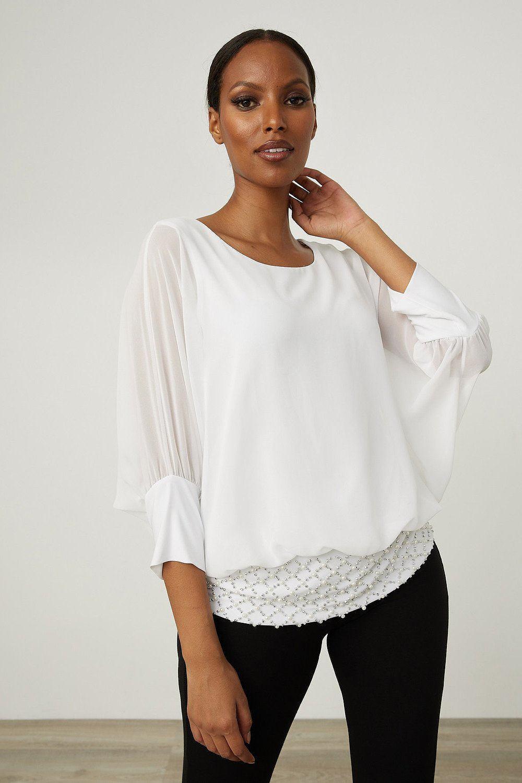 Joseph Ribkoff Chemises et blouses Vanille 30 Style 213395