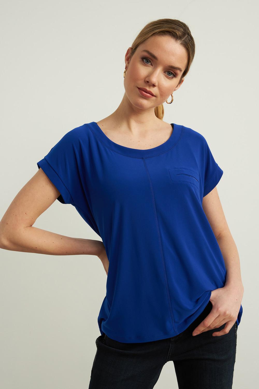Joseph Ribkoff Tee-shirts et camisoles Saphir Royal 163 Style 213403