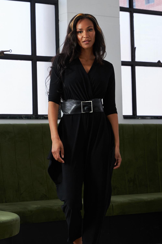 Joseph Ribkoff Black Jumpsuits Style 213410