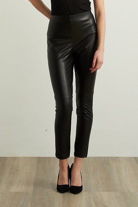 Joseph Ribkoff Faux Leather Leggings Style 213422