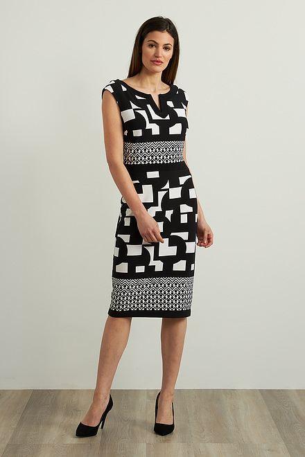 Joseph Ribkoff Geo Sheath Dress Style 213423