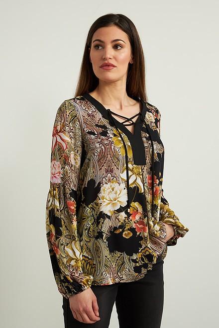 Joseph Ribkoff Chemises et blouses Noir/Multi Style 213425
