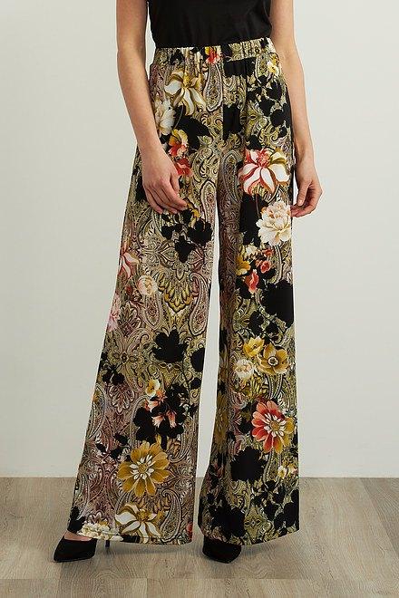 Joseph Ribkoff Paisley Floral Pants Style 213437