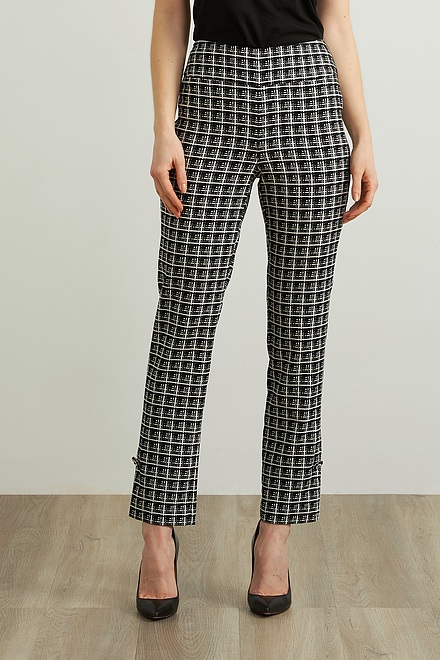 Joseph Ribkoff Black/White Pants Style 213439