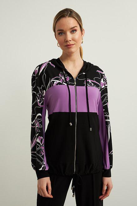 Joseph Ribkoff Hooded Jacket Style 213459
